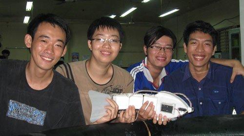 Robot cá chép thông minh