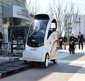 Robot chở người tự động