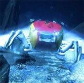 Robot Crabster hình con cua giúp thám hiểm xác tàu đắm