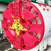 Robot đào hầm metro Hà Nội về đến cảng Hải Phòng