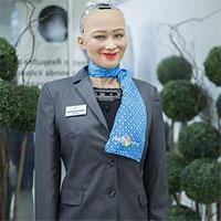 Robot giống người đầu tiên trên thế giới được cấp thẻ visa