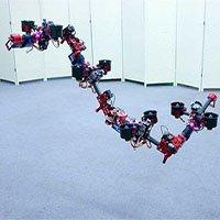 Robot rồng có thể thay đổi hình dạng trên không