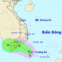 Sài Gòn ứng phó áp thấp nhiệt đới hướng vào Nam Bộ
