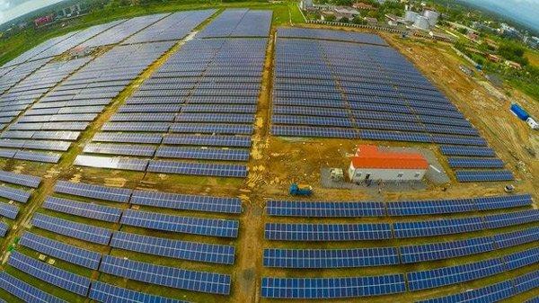 Sân bay năng lượng mặt trời đầu tiên ở Ấn Độ