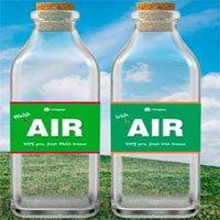 Sản phẩm độc lạ không khí đóng chai cho người nhớ nhà