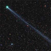 Sao chổi màu xanh lục sắp bay qua Trái đất