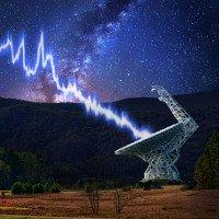 Sao neutron có thể dội chớp sóng vô tuyến xuống Trái Đất