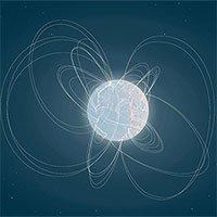Sao neutron có từ trường mạnh gấp 1.000 lần thông thường