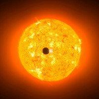 Sao Thủy sắp lướt qua đĩa Mặt Trời