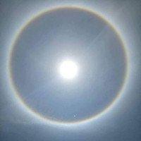 Sau Nghệ An, hào quang kỳ lạ lại xuất hiện trên bầu trời Huế