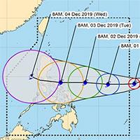 Siêu bão Kammuri tấn công Philippines với sức gió 200km/h