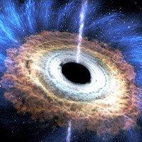 Siêu hố đen lớn gấp 20 tỷ lần Mặt Trời