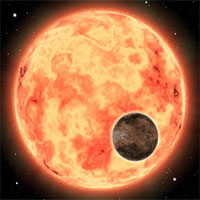 Siêu Trái đất nóng hơn 1800 độ xuất hiện cạnh