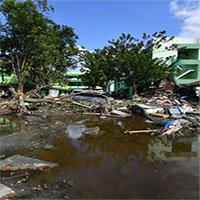 Sốc: Đất ở Indonesia