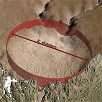 Sốc với thiên thạch đâm Trái đất mạnh như 70 vạn quả bom hạt nhân