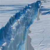 Sông băng Nam Cực đang tan nhanh hơn