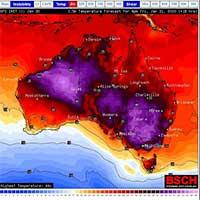 Sóng nhiệt cực đoan có nguy cơ kích hoạt lại các đám cháy rừng Australia