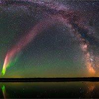 STEVE – cực quang xuất hiện lần đầu với màu tím nhạt