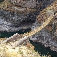 Sự thật bất ngờ về cây cầu treo cuối cùng của người Inca
