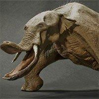 Sự thật là tổ tiên của voi và tê giác cổ đại có vẻ ngoài