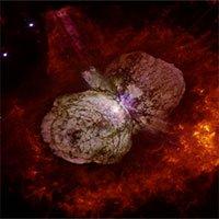 Sửng sốt tìm ra nguồn tia vũ trụ khủng từ hệ sao Eta Carinae