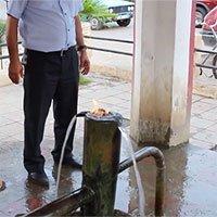 Suối nước bốc cháy như dầu ở Azerbaijan