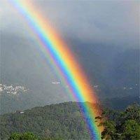 Tại sao hàng nghìn tỷ hạt mưa chỉ tạo nên một cầu vồng?