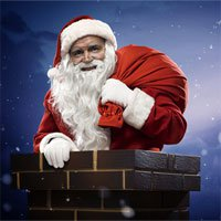 Tại sao ông già Noel chui qua ống khói mà không bị phát hiện?
