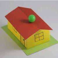 Tại sao quả bóng này không rớt khỏi mái nhà?