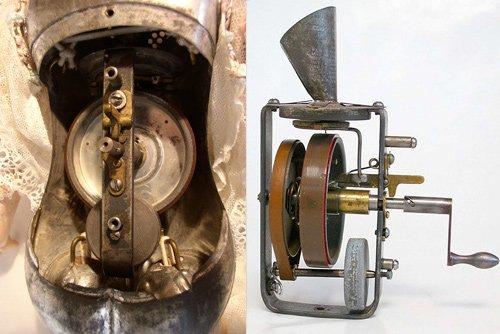 Tái tạo bản thu âm đầu tiên trên thế giới giấu trong búp bê Thomas Edison