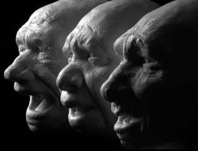 Tái tạo khuôn mặt của người 7 triệu năm trước