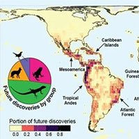 Tấm bản đồ cho biết nơi ở của những loài vật con người chưa từng biết đến