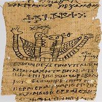 Tấm giấy cói bất ngờ tiết lộ bùa yêu của người Ai Cập cổ đại