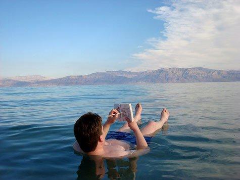 Tắm ở Biển Chết giúp chữa tiểu đường