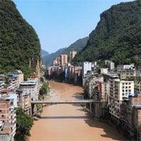Tận mục sở thị thành phố hẹp nhất thế giới, nơi rộng nhất chỉ 300 mét