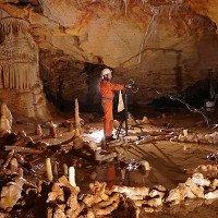 Tận thấy bức tường 175.000 tuổi trong hang động Pháp