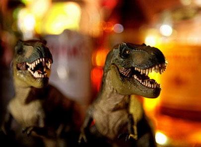 Tạo khủng long từ... phôi gà