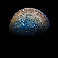 Tàu Juno đã chụp được những hình ảnh không thể tin được của sao Mộc!