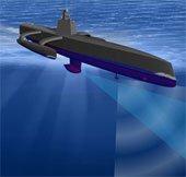 Tàu không người lái theo dõi tàu ngầm