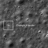 Tàu NASA chụp ảnh trạm đổ bộ Trung Quốc trên Mặt trăng