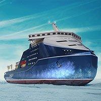 Tàu phá băng hạt nhân công suất 120 megawatt