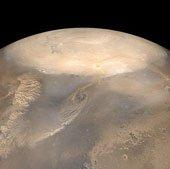 Tàu thăm dò sao Hỏa có thể bị bão bụi