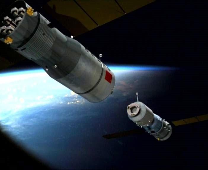 Tàu Trung Quốc ghép nối với module lần thứ hai