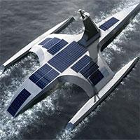 Tàu tự lái 5 tấn sắp vượt Đại Tây Dương
