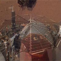 Tàu vũ trụ NASA lần đầu tiên ghi lại tiếng gió sao Hỏa
