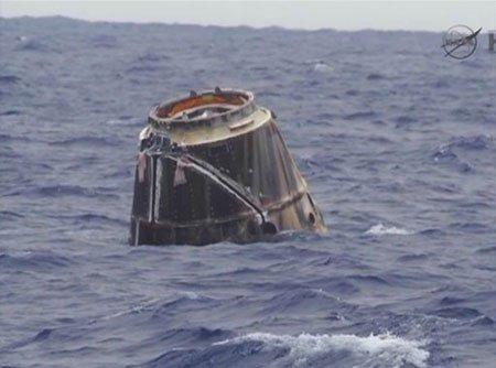 Tàu vũ trụ tư nhân hạ cánh xuống biển, hoàn thành sứ mệnh lịch sử