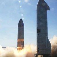 Tên lửa thử nghiệm của SpaceX lại phát nổ khi hạ cánh xuống bệ phóng