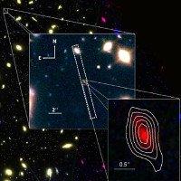 Thiên hà cách Trái Đất 13,28 tỷ năm ánh sáng