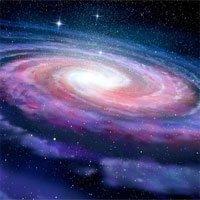 Thiên hà khiến Dài Ngân hà bị méo