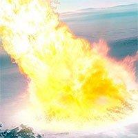 Thiên thạch 100m phát nổ430 triệu năm trước